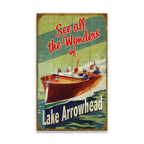 wooden boat green background sign  wood signs