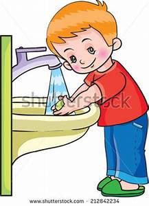 Child Washing Hands Stock Images, Royalty-Free Images ...