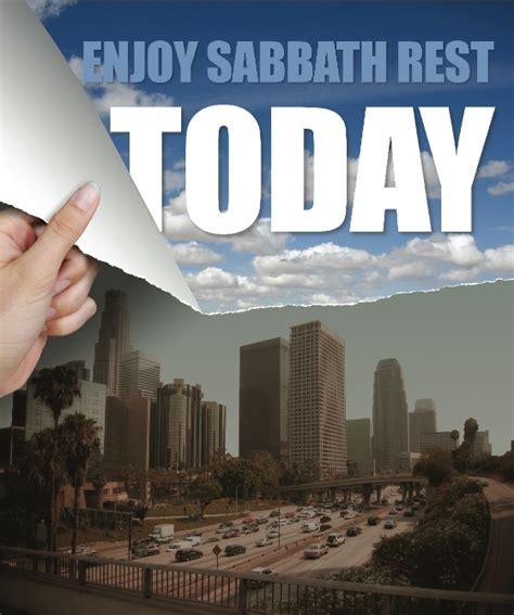 enjoy sabbath rest today