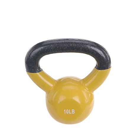 kettle bell kettlebell weight sunny amazon coated vinyl lb fitness handle health stepper twister via