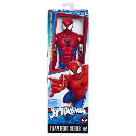 titan hero series web warriors big time spider man juguetron