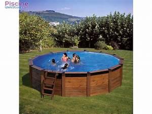 Piscine Bois Ronde : piscine hors sol bois gr hawaii ~ Farleysfitness.com Idées de Décoration