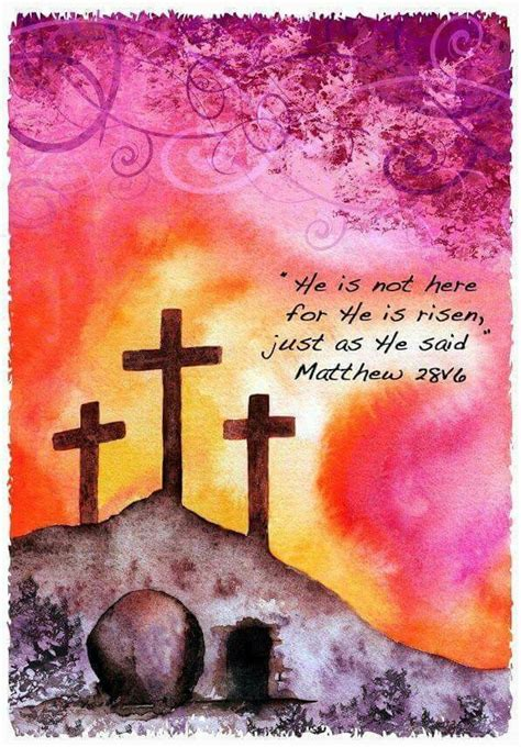 jesus arose   grave happy easter easter
