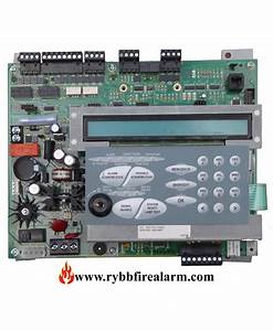 Gamewell Fci 7100-2d Fire Alarm Panel