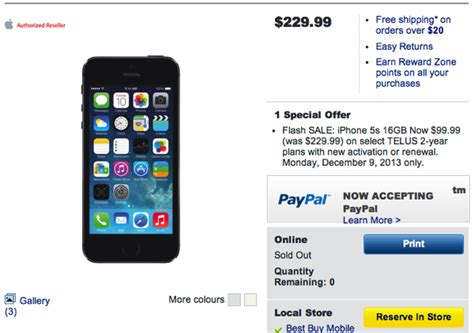 best buy iphone 5s best buy 1 day telus iphone 5s for 99 99 plus