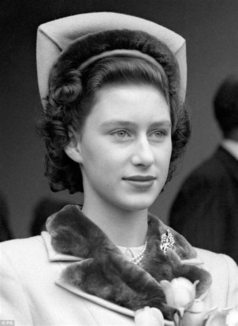 how princess margaret roughed it with only 4 courses and