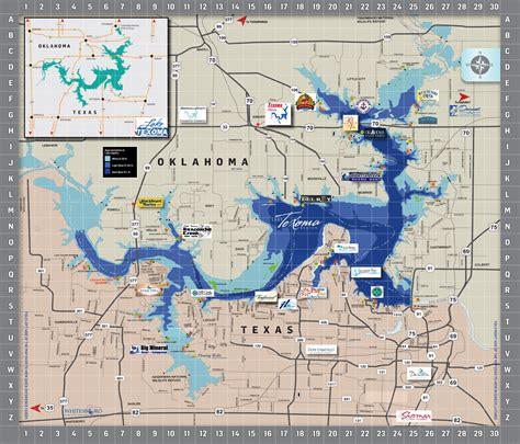 Area Map - Lake Texoma AssociationLake Texoma Association