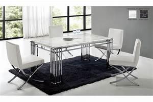Table A Manger Marbre : table salle a manger moderne design table a manger a rallonge design maisonjoffrois ~ Teatrodelosmanantiales.com Idées de Décoration