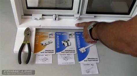 sliding door locks how to easy to install sliding window door security