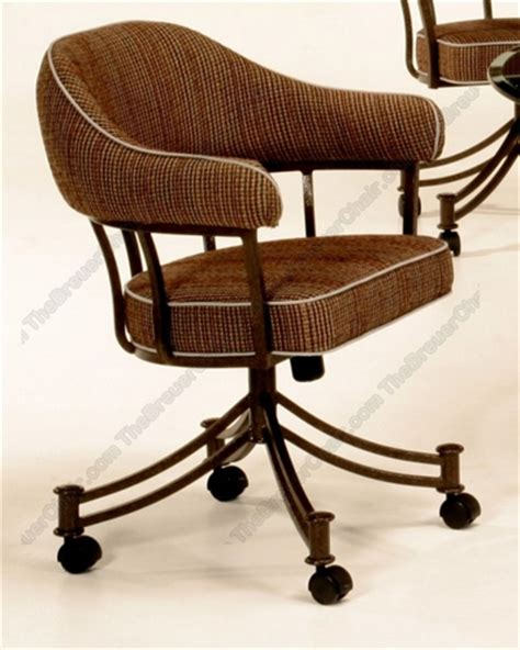 chromcraft chairs with casters chromcraft like caster swivel chairs