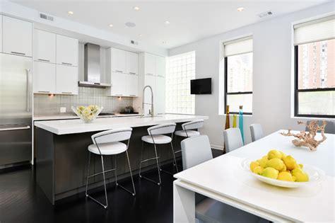 contemporary kitchen cabinets chicago chestnut contemporary kitchen chicago by dresner 5697