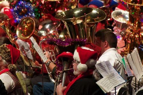 wksu news akrons tuba christmas  resounding blast