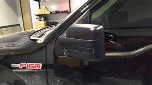 2012 F-150 Power Fold Mirrors Non Tow Style