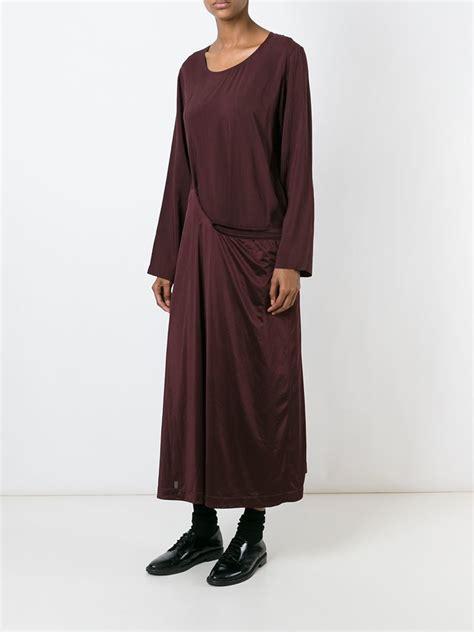 robe de chambre hello comme des garçons 39 robe de chambre 39 dress in lyst
