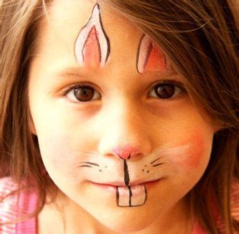 bunny makeup  adults bunny face paint  rabbit