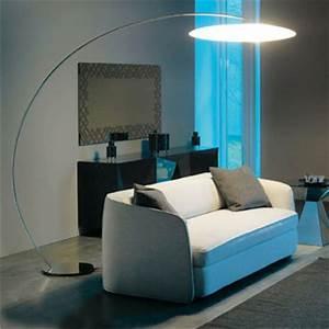 Lampadaire Design Salon : grand lampadaire salon lampe trepied salon marchesurmesyeux ~ Teatrodelosmanantiales.com Idées de Décoration