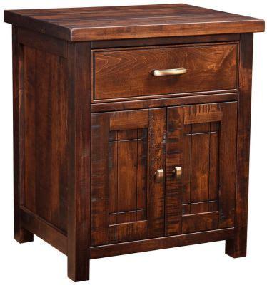 Beech Nightstand by Beechwood Door Nightstand Countryside Amish Furniture