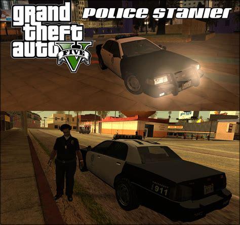 Gta San Andreas Gta V Vapid Stanier Police Mod