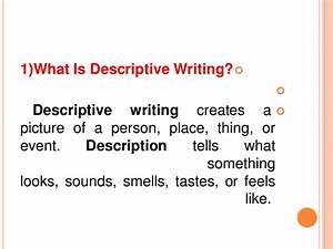 descriptive essay about a person