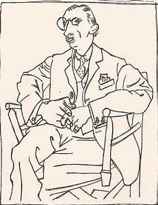 EstefaniaDickinson: Picasso line drawings