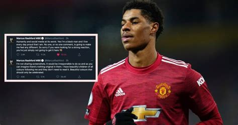 Marcus Rashford responds to racist abuse received after ...