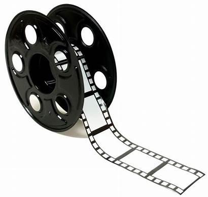 Reel Film Clipart Roll Clip Cliparts Graphics