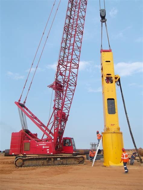 bsps biggest  piling hammer