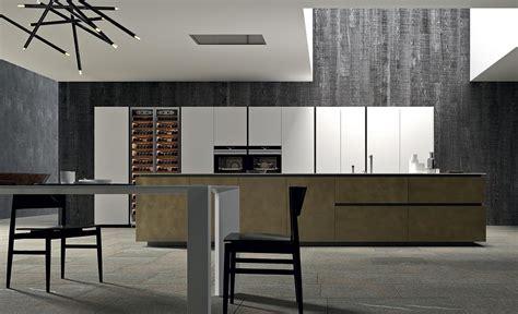 cuisine lineaire design filo îlot cuisines collections comprex