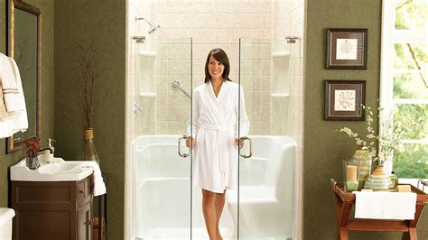 caring for a tub easycare bath showers bathroom remodel