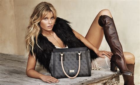 guess accessories fall winter  campaign feat samantha