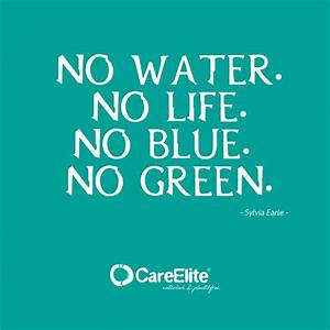 Fight against p... Water Environment Quotes