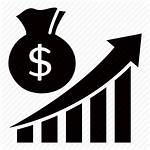 Profit Icon Sales Increase Icons Business Clipart