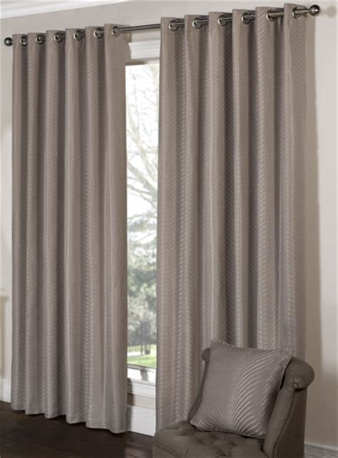 tibey taupe ready made eyelet curtains eyelet curtains
