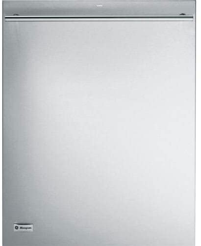 monogram zdtssfss fully integrated dishwasher   place settings  wash cycles