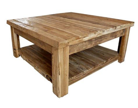 Before Selling Rustic Wood Coffee Table
