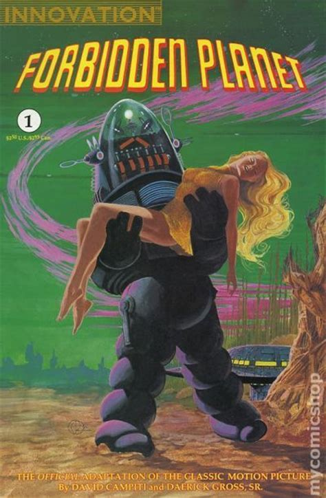 forbidden planet  comic books