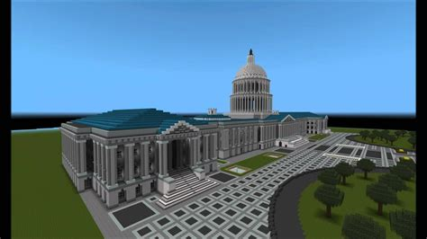 minecraft epic building  capitol youtube
