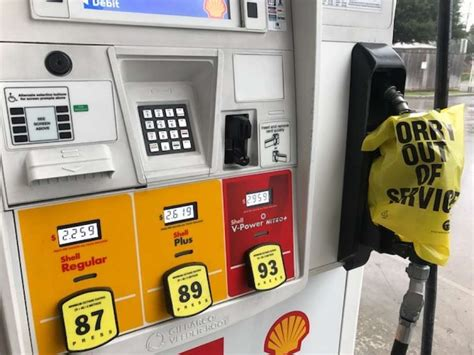 More Gas Stations Running Out Of Fuel As Hurricane Harvey