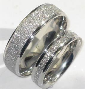 Mens or womens sparkleblast 6mm 4mm sparkle wedding ring for Wedding rings on line