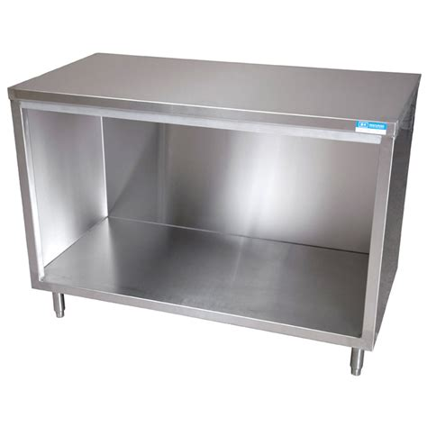 stainless steel cabinet bk resources stainless steel cabinet base work table 30 quot x