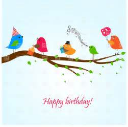 free singing birthday cards online image bank photos birthday greeting card with birds on the branch singing