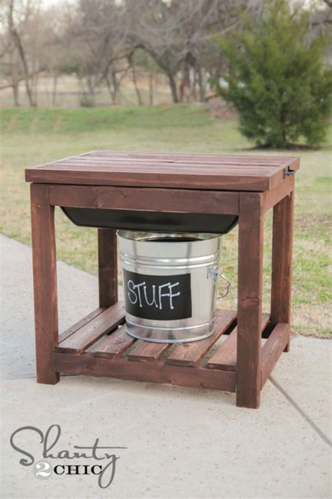 how to sand a table diy sandbox table shanty 2 chic