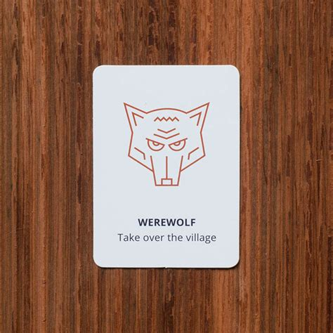 werewolf role play game cool hunting