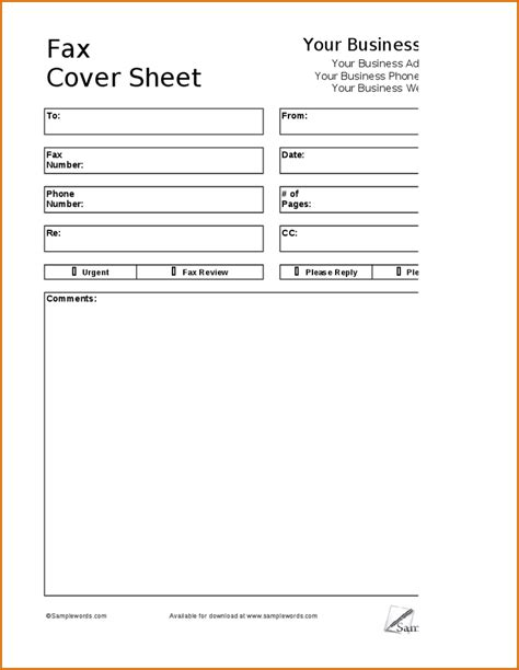 6 fax cover sheet format authorizationletters org