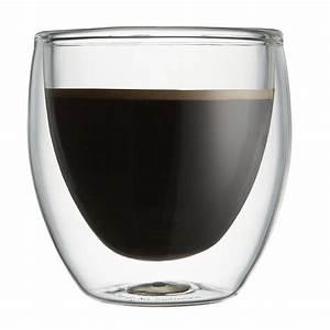 Verre à Café : tasse bodum pavina verre double paroi 8 cl par 2 bodum ~ Teatrodelosmanantiales.com Idées de Décoration