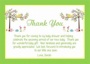 baby shower thank you card wording ideas all things baby With thank you letter after baby shower