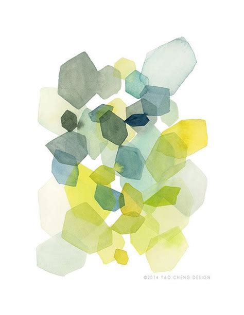 Abstract Shapes Watercolor by Best 20 Abstract Watercolor Ideas On