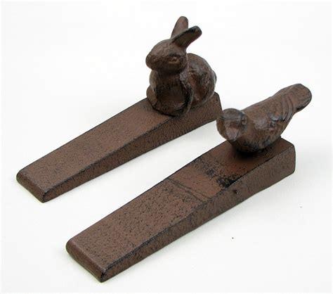 cast iron door stops bird rabbit cast iron door stop drop ship