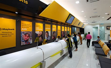 Banks And Currency Exchange Counters At Klia2
