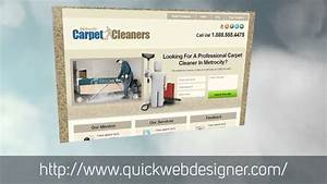 Carpet Cleaning Website Design Template Free Carpet Cleaning Website Template Youtube